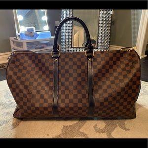 Louis Vuitton overnight duffle bag